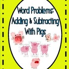 Adding & Subtracting Worksheets for Kindergarten (Common Core)