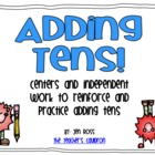 Adding Tens Centers and Activities