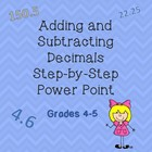 Adding and Subtracting Decimals Step-by-Step with practice