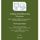 Adding and Subtracting Fractions (HI Practice Sheets) SAMP