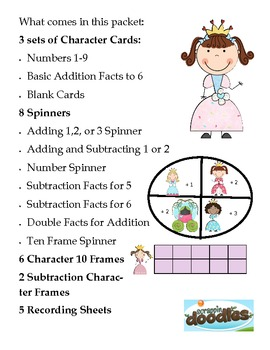 Adding and Subtracting Princess Style