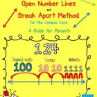 Adding and Subtracting Using Open Number Lines: A Guide fo