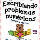 Adding and Subtracting Word Problems in Spanish