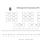 Adding and Subtracting for Groundhog Day