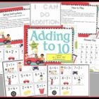 Adding to 10 Math Center Station Activity