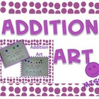 Addition Art - Part Part Whole