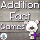 Addition Basic Fact Games and Flash Cards for Addends 0-10