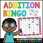 Addition Bingo 1-20