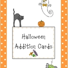 Addition Cards-Halloween