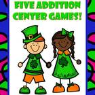 Addition Centers for St. Patrick's - Five Different Strategies