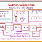 Addition Composition: Posters &amp; Flash Cards
