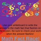 Addition Fact Race-Powerpoint