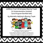 Addition Fact Strategies Racing Team (Comprehensive Common