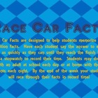 Addition Facts- Race Car Facts