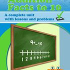Addition Facts to 10  - a complete unit - Common Core Grade 1