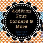Addition Four Corners & More Mega Pack Sums 7-12 and 13-18