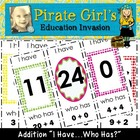 Addition Game (I have...Who has?)