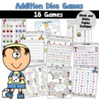Addition Game Pack-Single Digits/Sums to 20