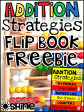 Addition Hands-On Strategies FlipBook FREEBIE