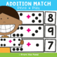 Addition Match - Printable Math Card Game & Worksheet