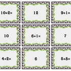 Addition Matching Game:K-2