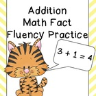 Addition Math Fact Fluency Pages