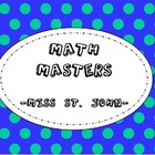 Addition Math Masters