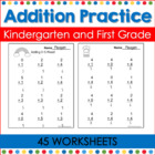 Addition Practice for the Common Core