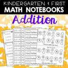 Addition Printables for K-1 Math Journals