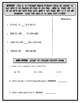 Addition Properties and Balancing Equations Worksheet with