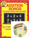 Addition Songs CD Kit by Kathy Troxel