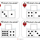 Addition & Subtraction: Part-Part-Whole Task Cards {Monster Math}