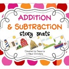 Addition Subtraction Story Mats and Recording Sheets