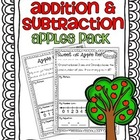 Addition & Subtraction Story Problems {Apples Pack}