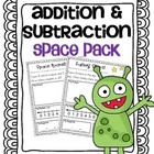 Addition &amp; Subtraction Story Problems {Outer Space Pack}