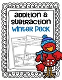 Addition & Subtraction Story Problems {winter pack}