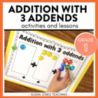 Addition With 3 Addends {Activities &amp; Assessments}