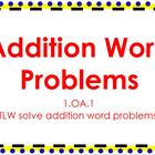 Addition World Problems {ACTIVboard}