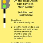 Addition and Subtraction Fact Families Center