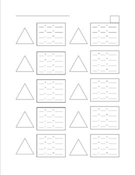 ADDITION AND SUBTRACTION FACT FAMILIES WORKSHEET ...