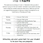Addition and Subtraction Fact Family Fluency Unit to 10