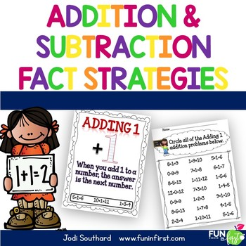 Addition and Subtraction Fact Strategies Combo Pack