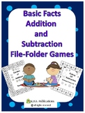 Addition and Subtraction File-Folder Games for numbers 0-10