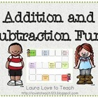 Addition and Subtraction Fun