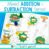 Addition and Subtraction Game Pack