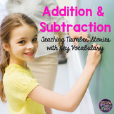 Addition and Subtraction Number Stories Teaching Key Words