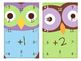 Addition and Subtraction Pencil Hole Flashcards FREE Preview