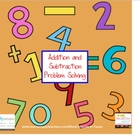 Addition and Subtraction Problem Solving the SMART way