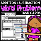 Addition and Subtraction Story Problem Cards