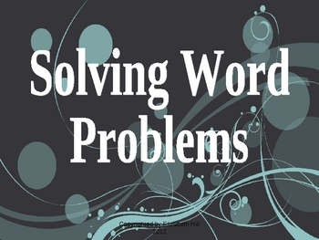 Addition and Subtraction Word Problems PowerPoint Presentation